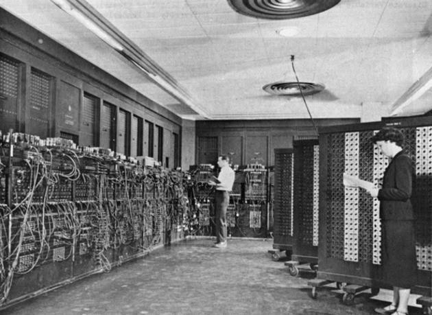 Una de las primeras computadoras