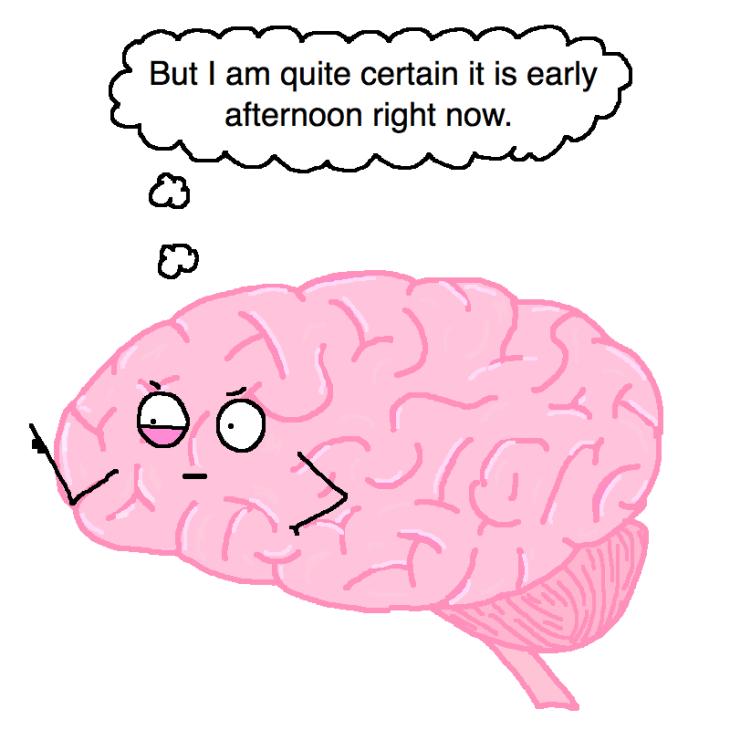 Brain lag feeling