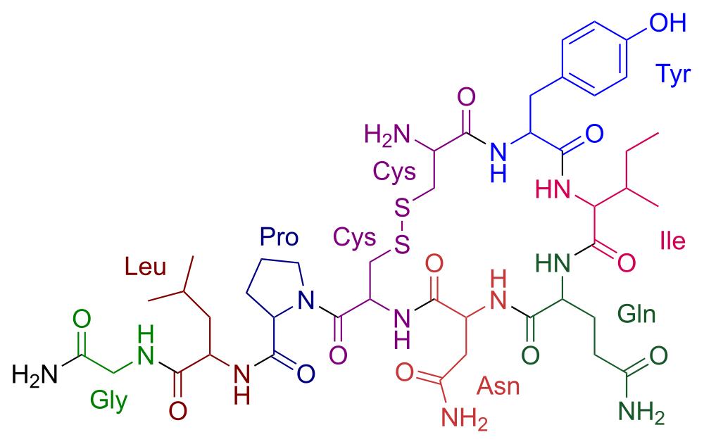 Oxitocina, amor