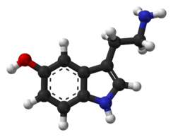 Serotonin-Spartan-HF-based-on-xtal-3D-balls-web
