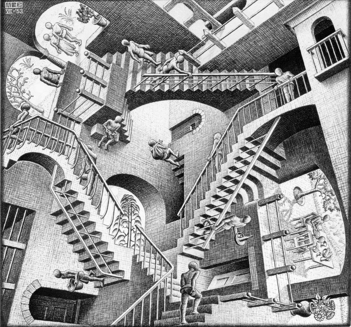 Genios: M.C.Escher