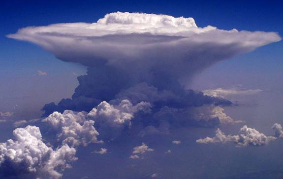 Formación de Un Cumulonimbo