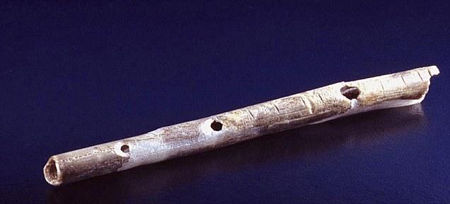 Flauta de Hueso de Mamut