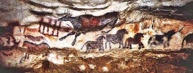 Pinturas de las Cuevas de Lascaux (Sur de Francia)