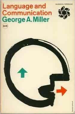 Portada de 'Language and Communication' de George Miller. 1951.