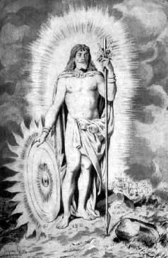 Balder, Dios Sol de la Mitología Nórdica