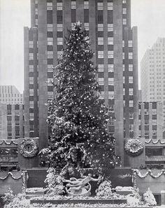 Árbol del Rockefeller Center de 1948