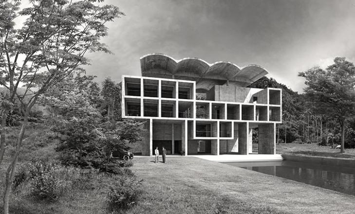 Villa Hutheesing, Le Corbusier