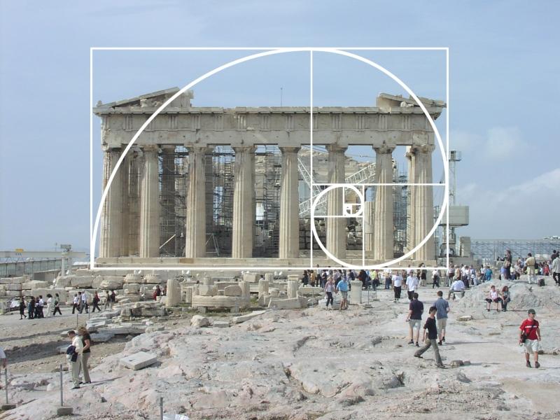 La Proporción Áurea en el Partenón de Grecia
