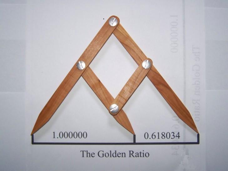 Triángulo para Medir la Proporción Áurea