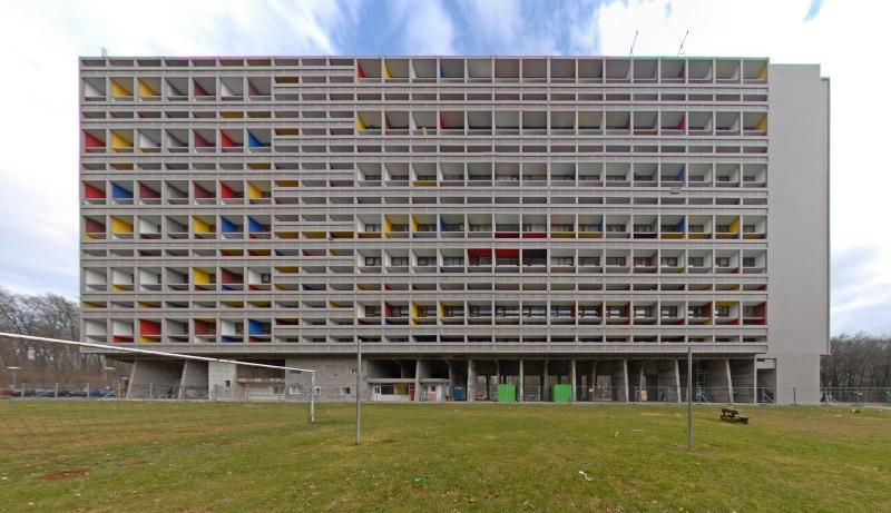 Unité d'Habitation, de Le Corbusier