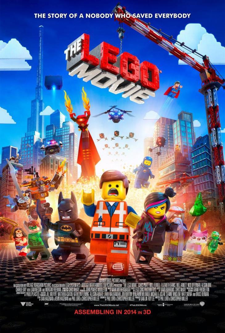 "Póster Original de ""La Lego Película"""