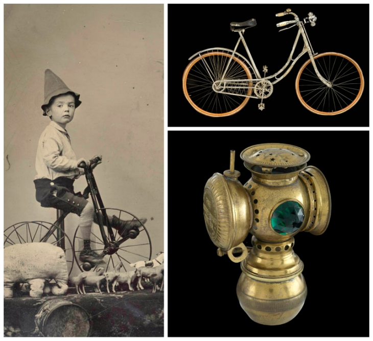 Bicicleta y Faro 1890.