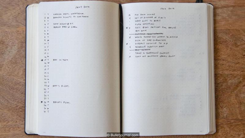 Las ventas de papelería han aumentado en gran parte por el boom del diario con guiones (bullet journaling)