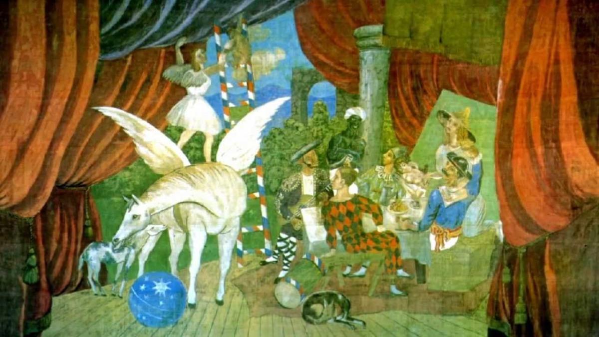 Este Ballet Creado Por Picasso, Satie y Cocteau Inspiró La Palabra Surrealismo en 1917