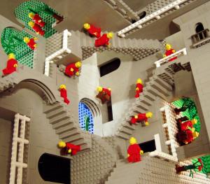 Relativity (1953) - M.C.Escher