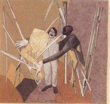 hannah-hoch-love-in-the-bush-1925