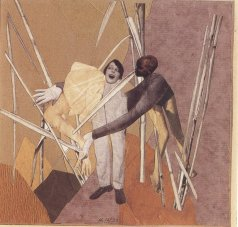 hannah-hoch-love-in-the-bush-1925