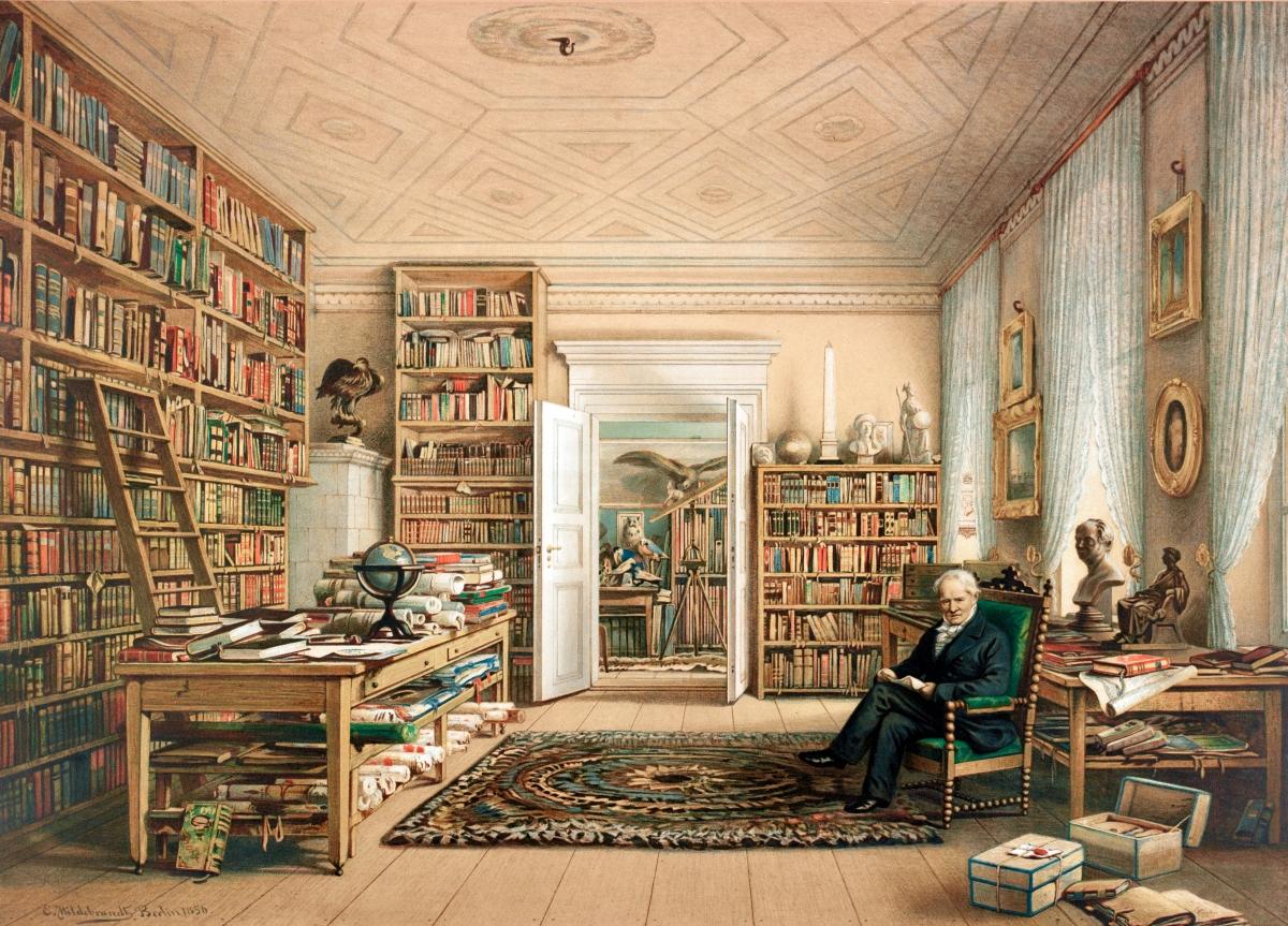 Alexander von Humboldt, La Invención De La Naturaleza