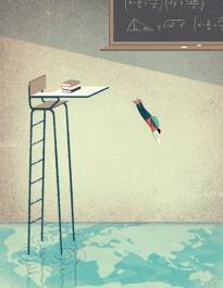 El año de transición entre el instituto y la universidad en EEUU