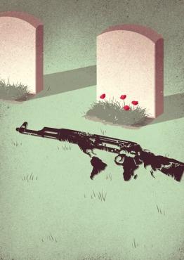 La muerte de Mikhail Kalashnikov (1919-2013)