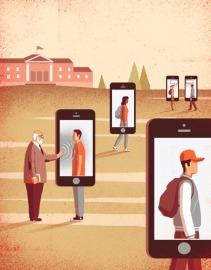 Nativos digitales, universidades analógicas I
