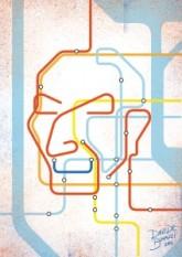 Massimo Vignelli, el famoso diseñador del mapa del metro neoyorkino