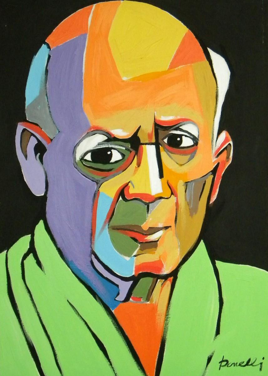 La Evolución Pictórica De Picasso En 14 Autorretratos