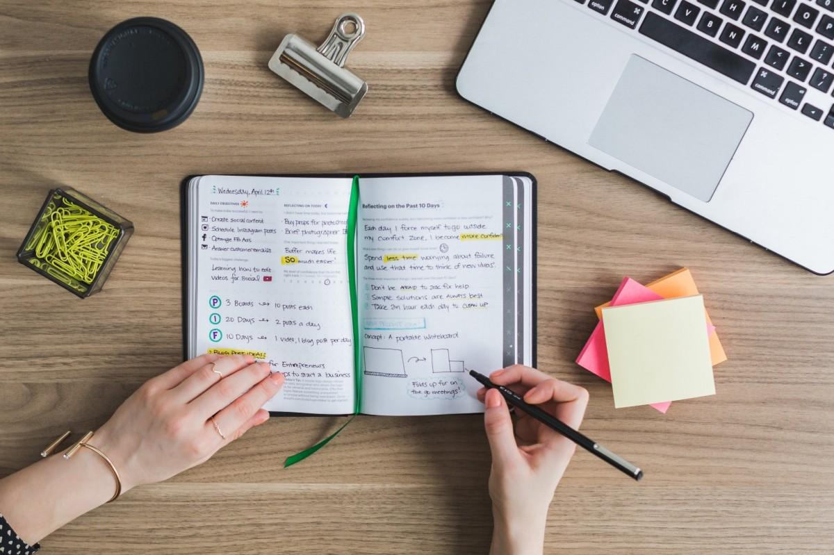 5 Modos En Los Que Llevar Un Bullet Journal Te Puede Hacer Más Feliz En El Trabajo, ¡Con Plantillas e Ideas!