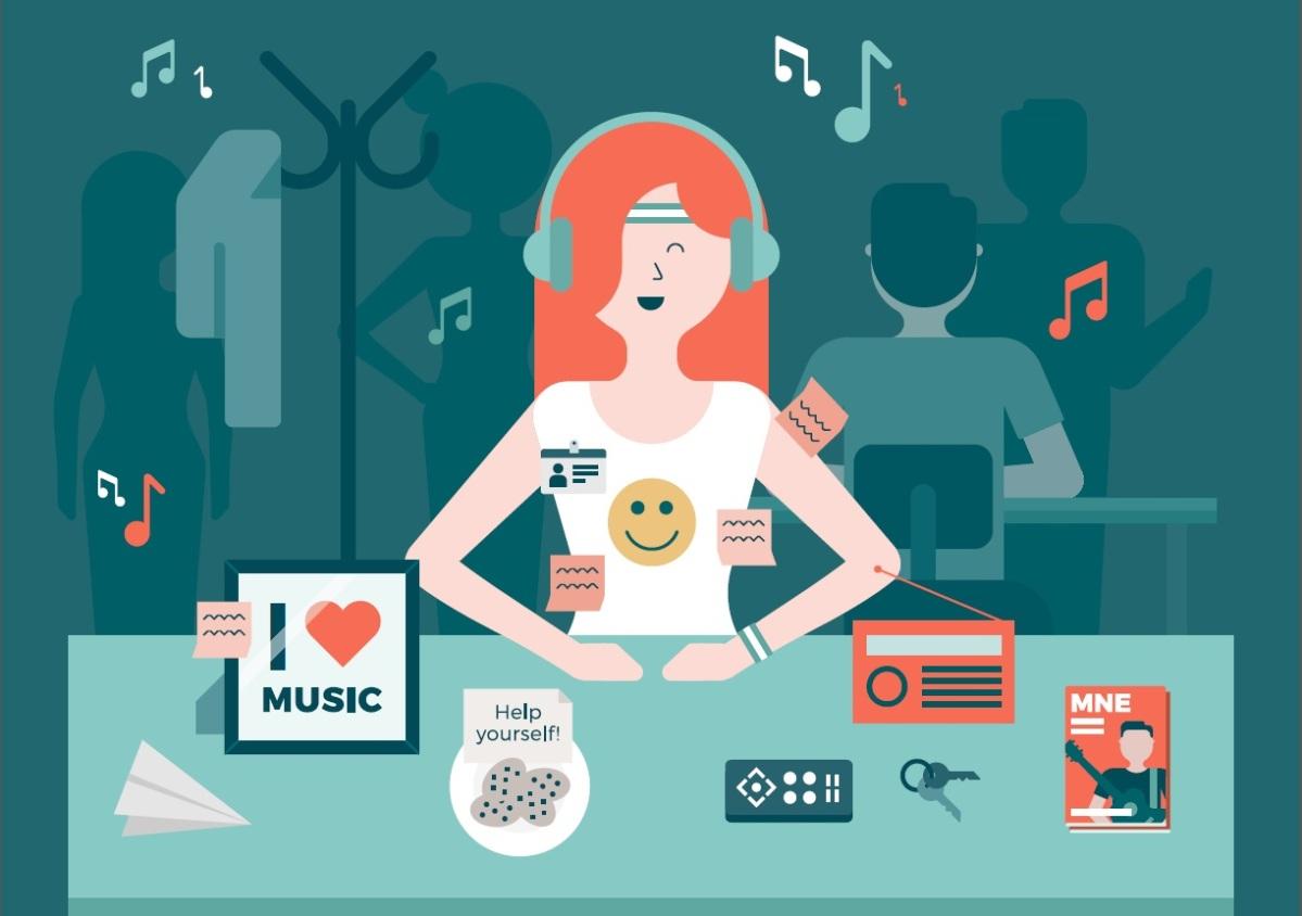 Escuchar Música En El Trabajo: Productividad, Creatividad, Concentración