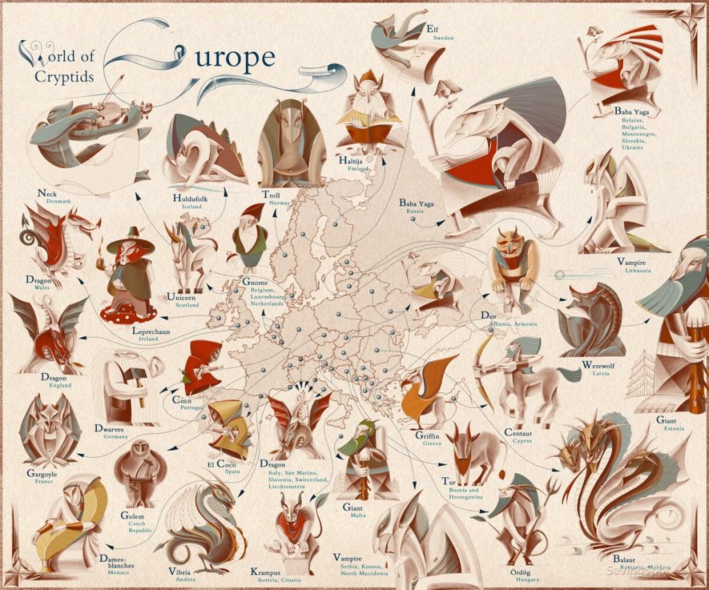 Criaturas de Europa